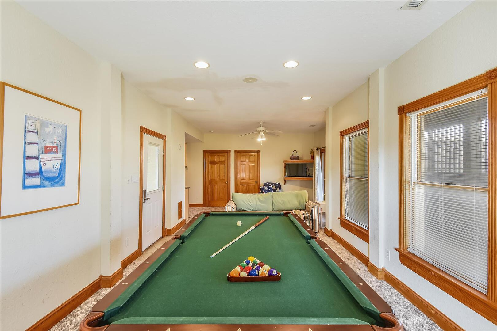 Lower Level,Pool Table/Ping Pong,