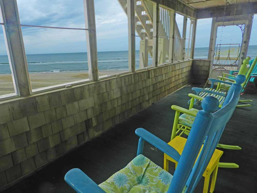 Screened Porch with Ocean View