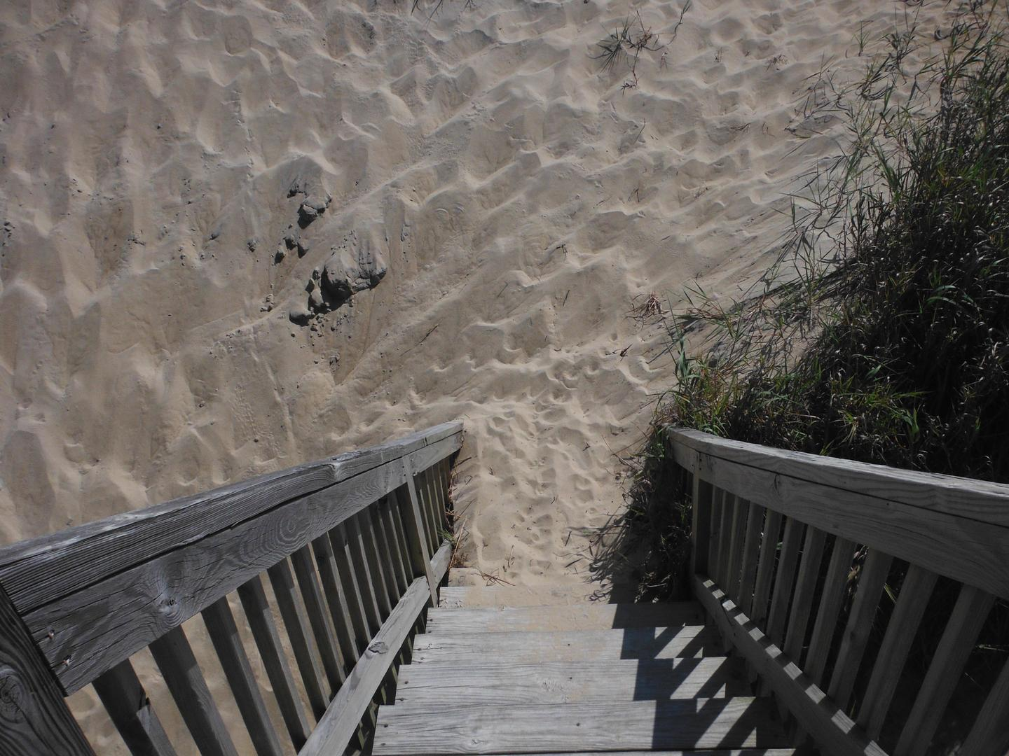 Steps to Beach
