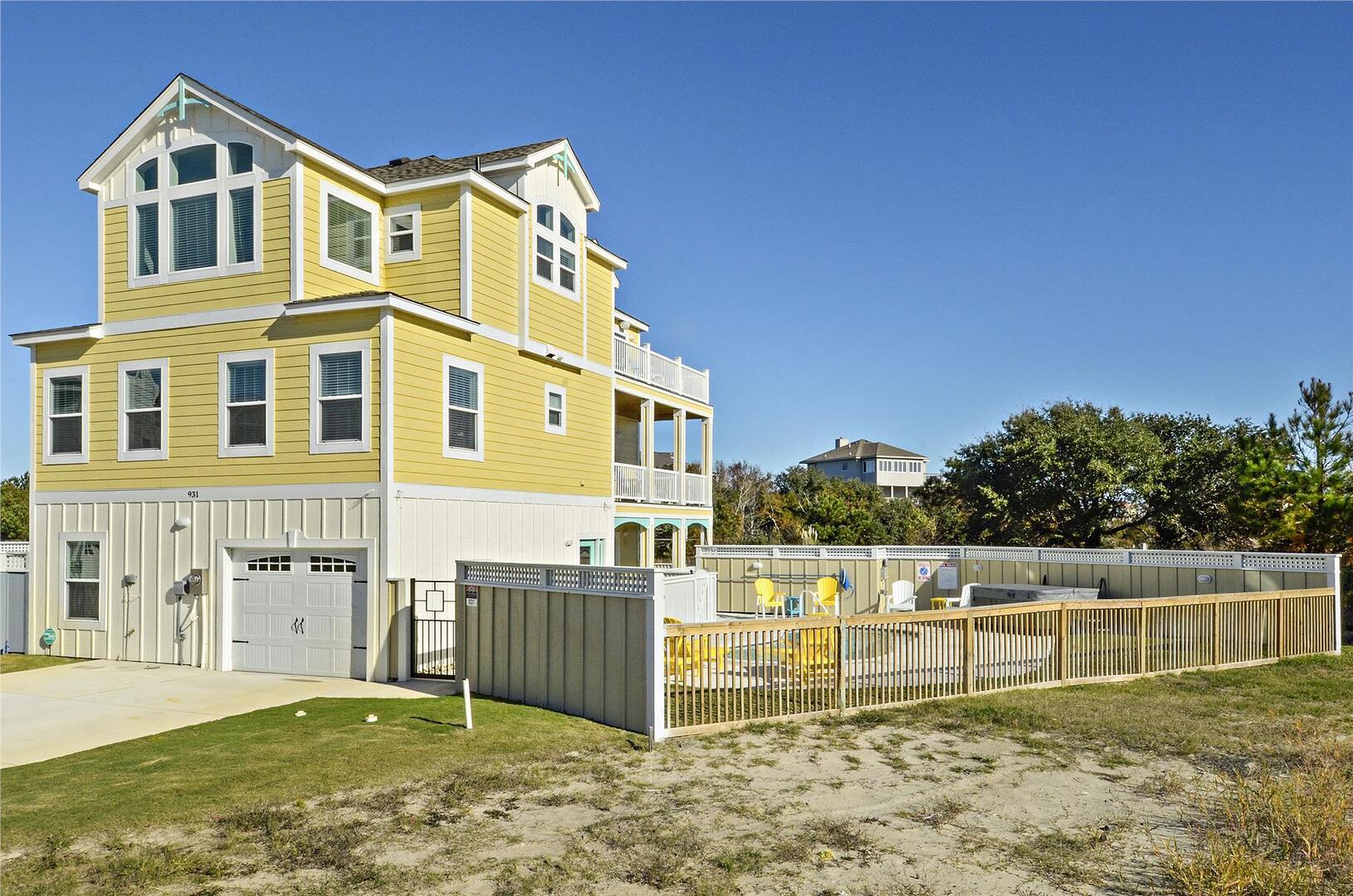 Exterior,Drag'n Fly Villas at Corolla Bay,