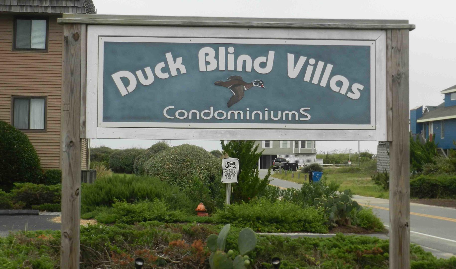 Duck Blind Villas