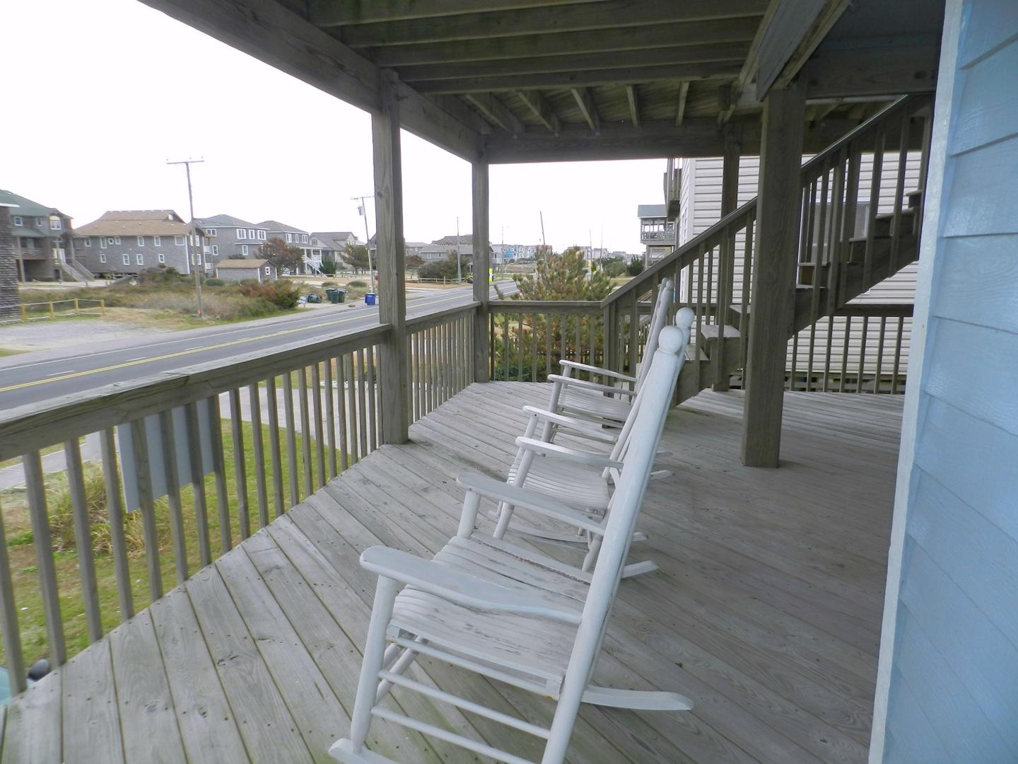Mid Level Covered Deck