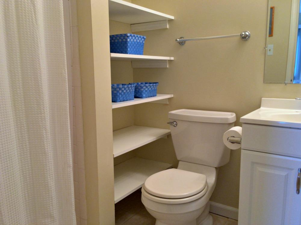 Queen Master Bath with Shower Only