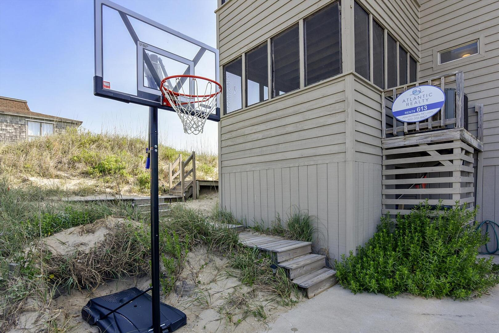 Lower/Parking Level,Basketball,
