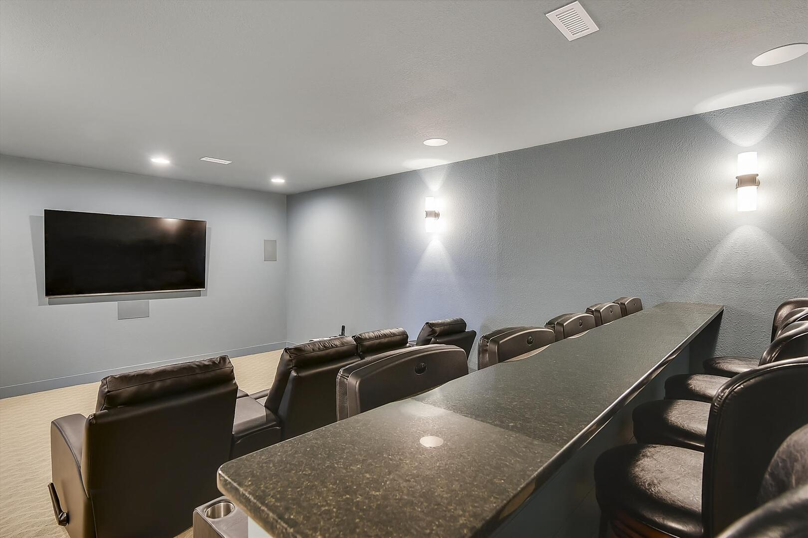Lower Level,Theater Room,
