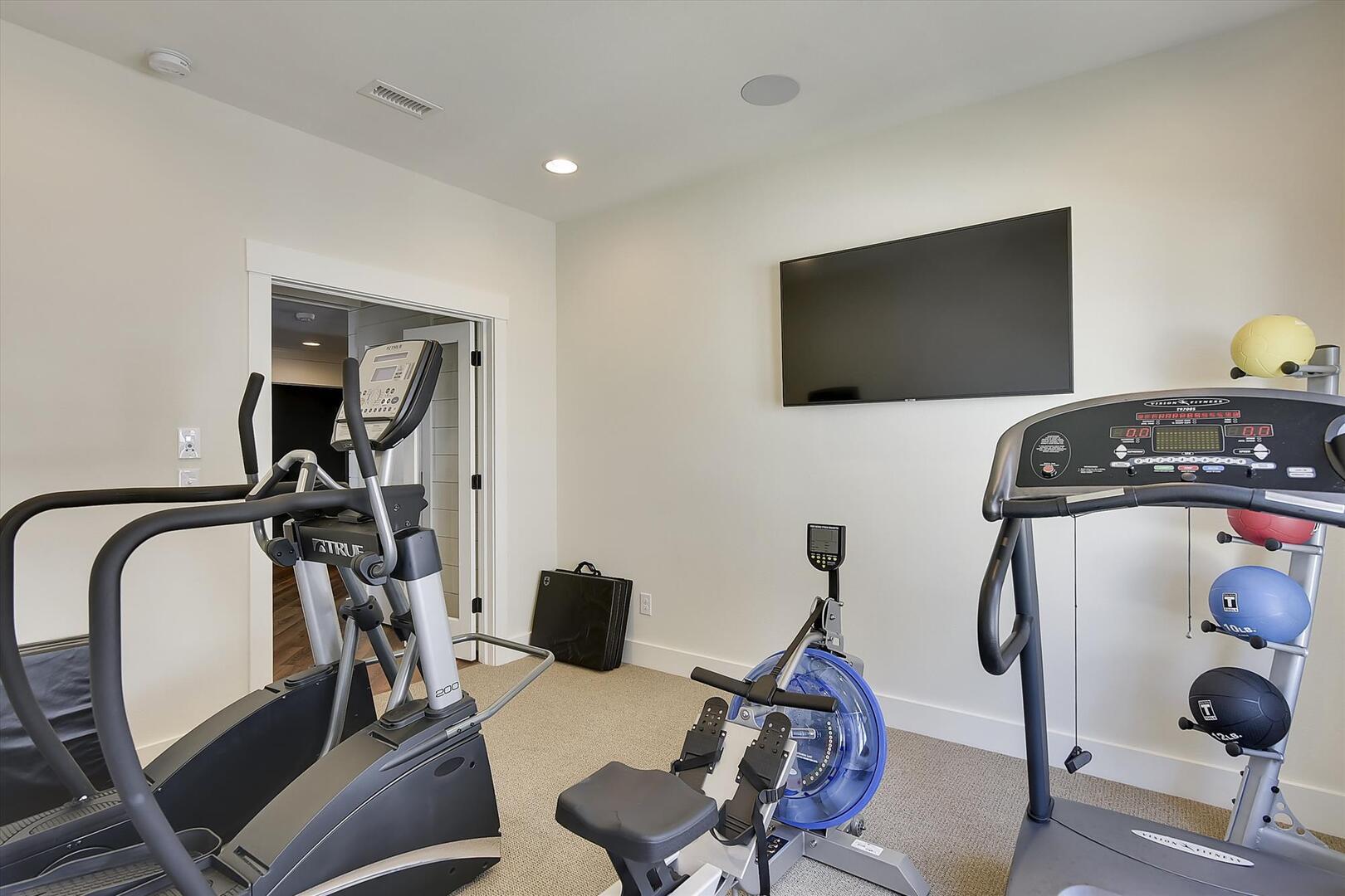 Lower Level,Gym,