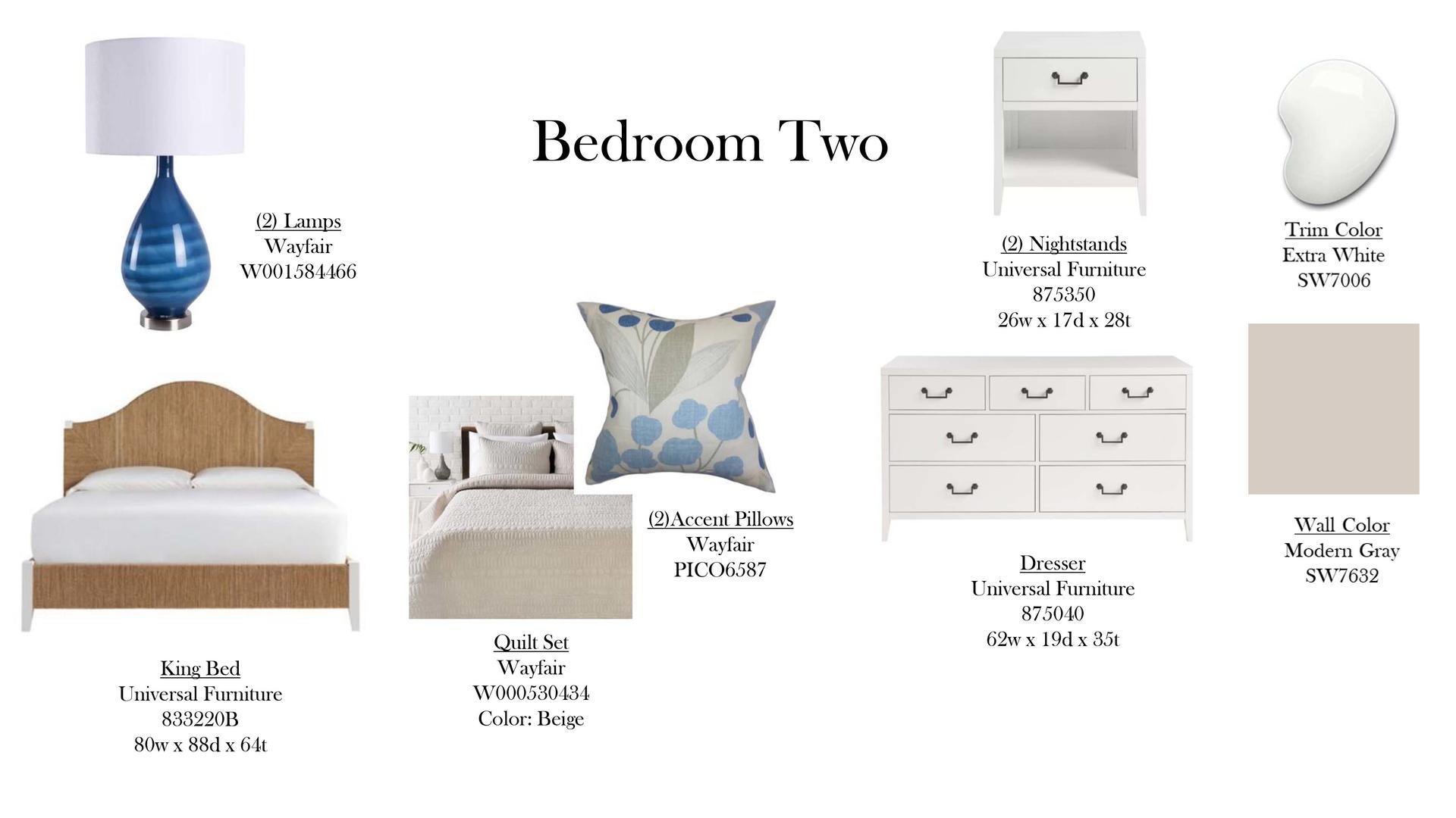 Bedroom 2 Specs