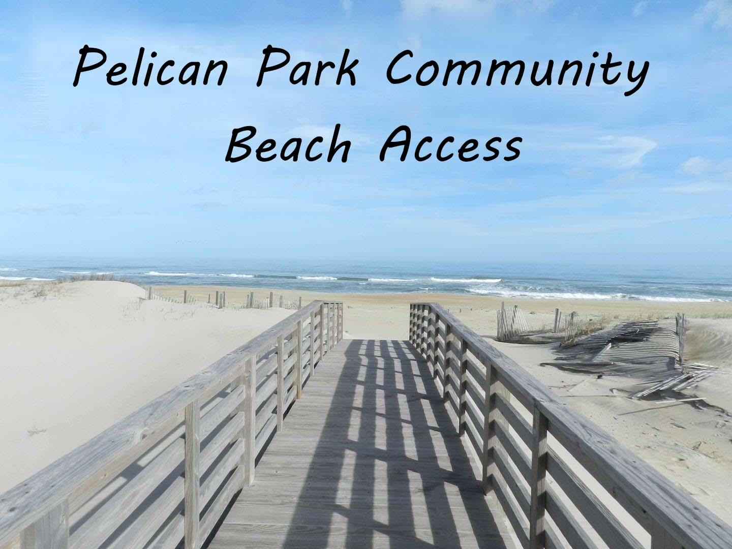 Pelican Park Community Beach Access