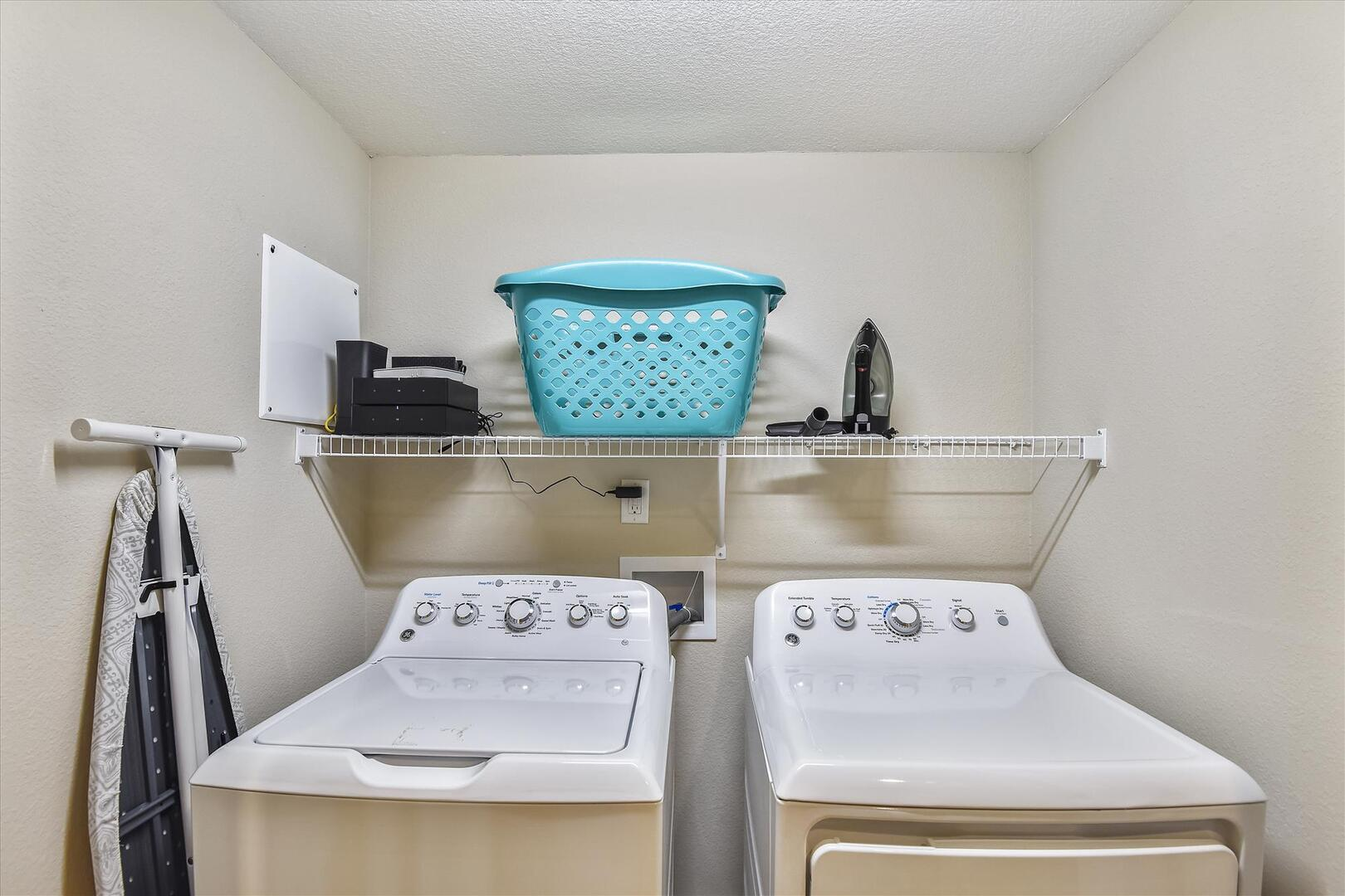 Main Level,Washer Dryer,