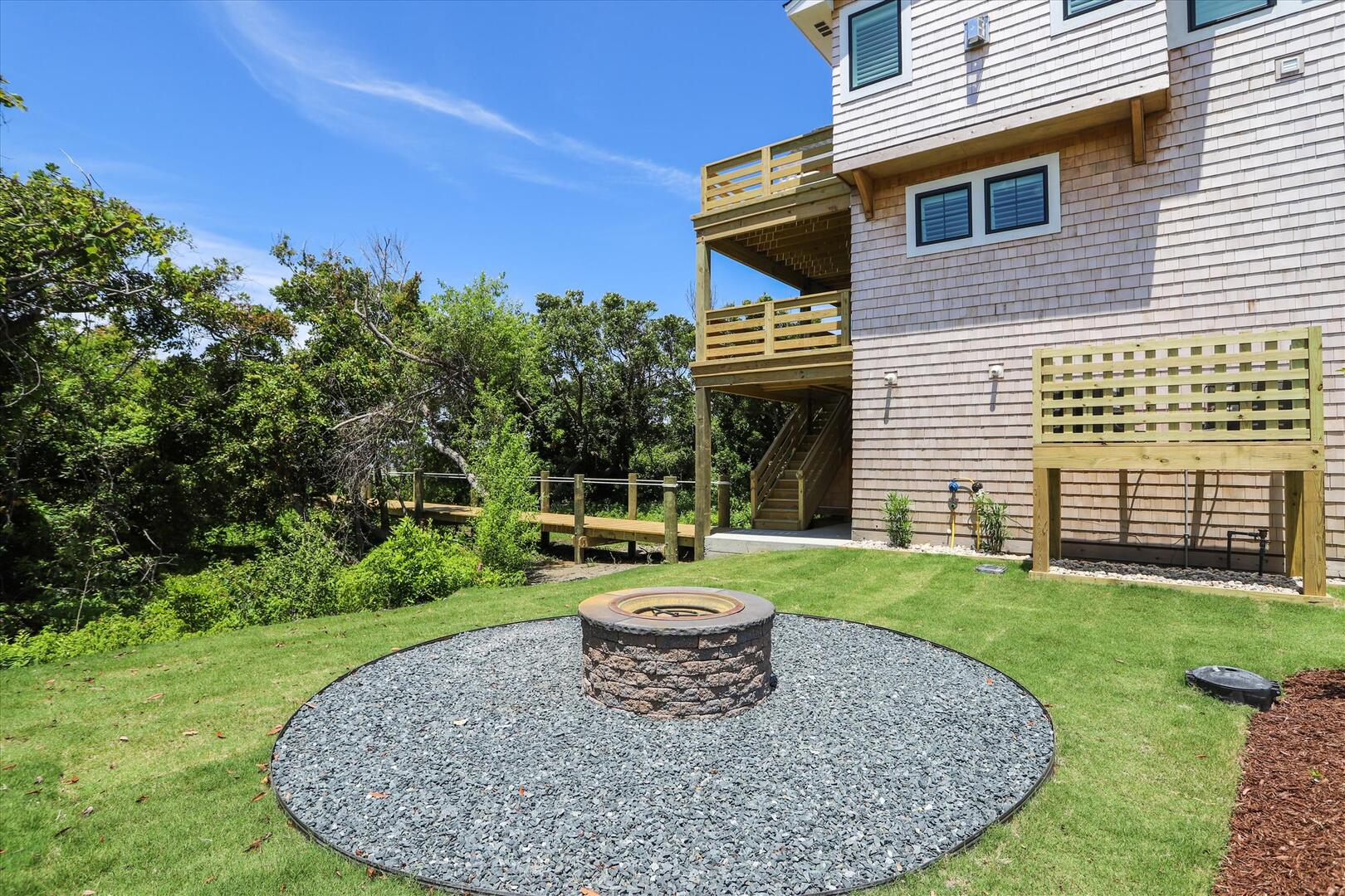 Ground Level,Fire Pit,
