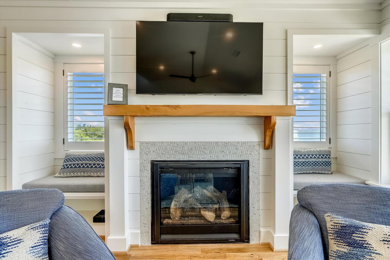 Main Level,Fireplace,