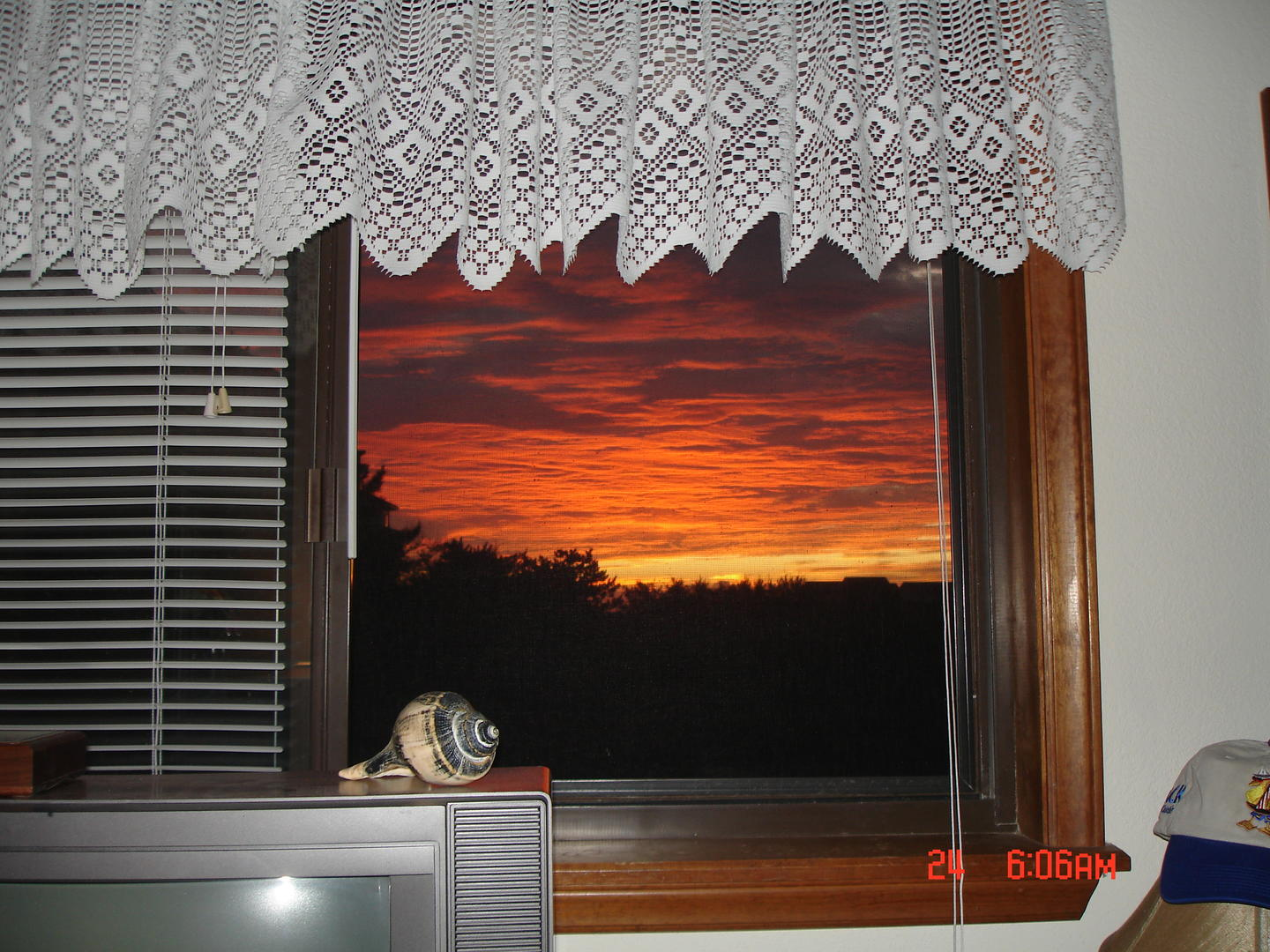 Spectacular Sunrise from Master Bedroom