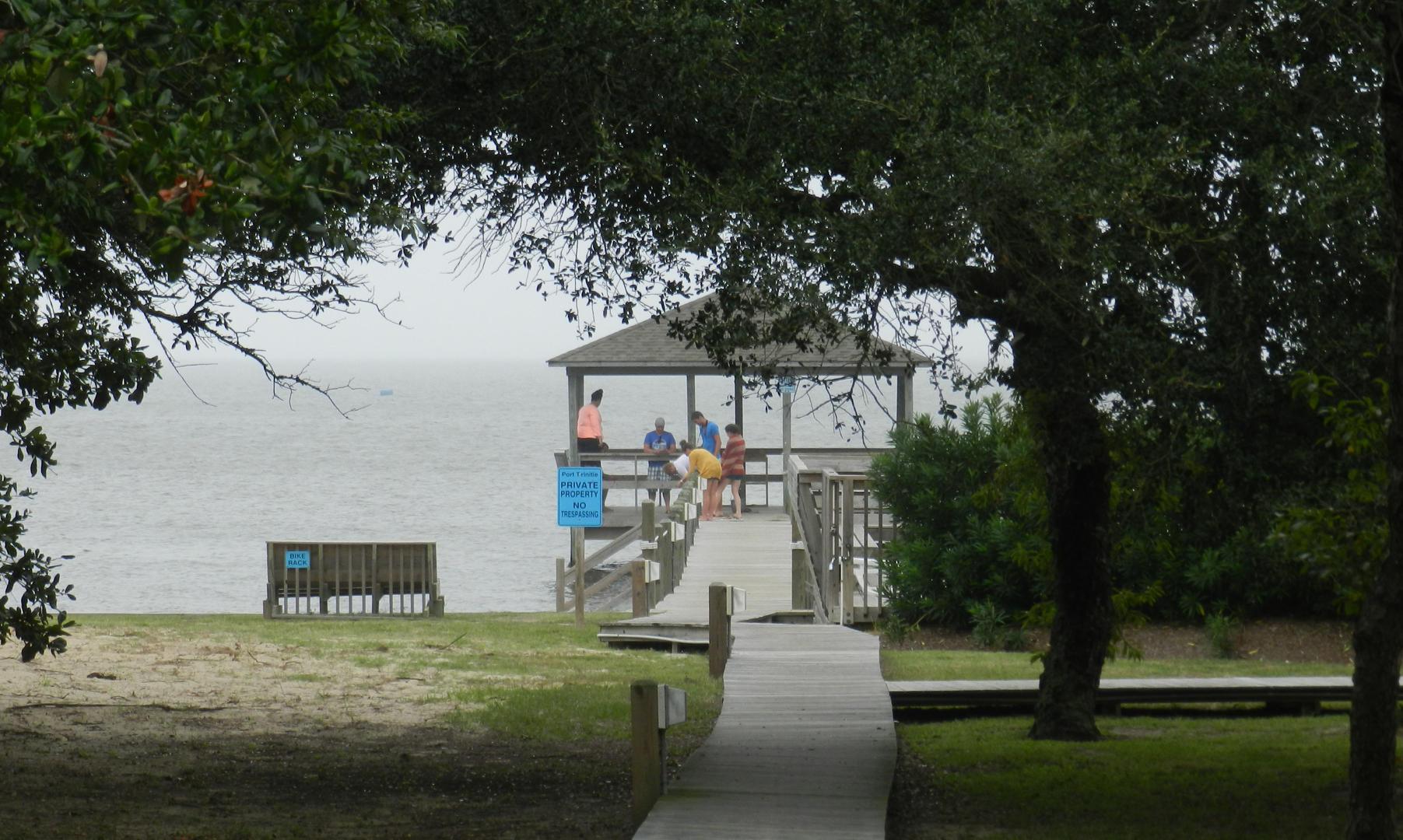 Community Pier and Gazebo
