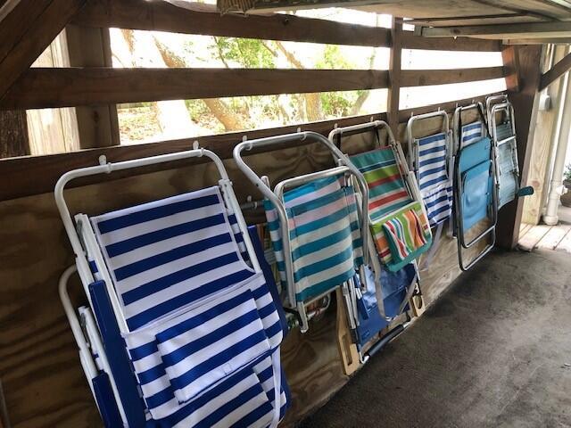 Beach Chair Storage
