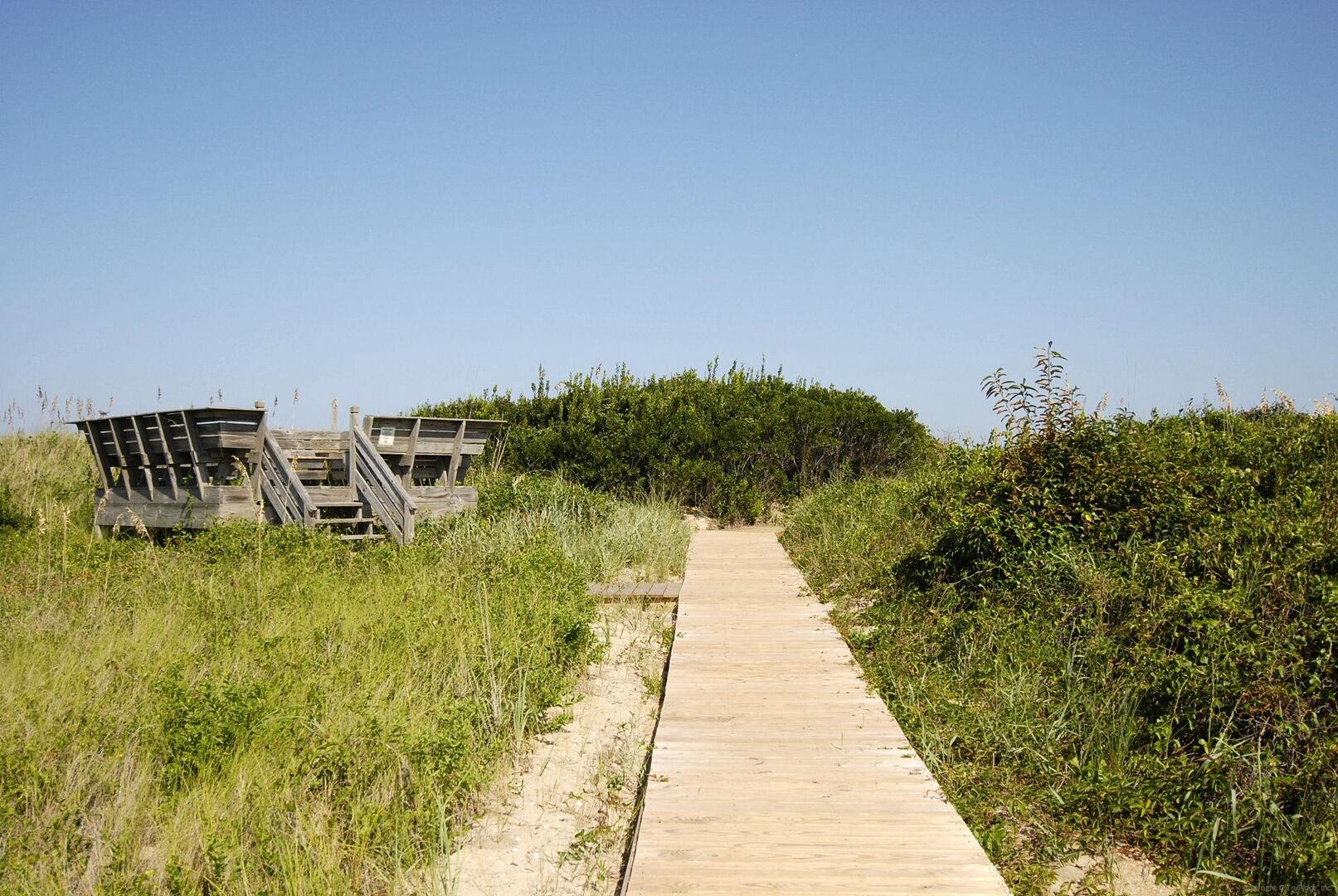 Amenity,Duck Blind Villas Beach Access,