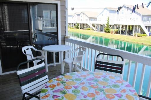 Back deck-Lagoon view