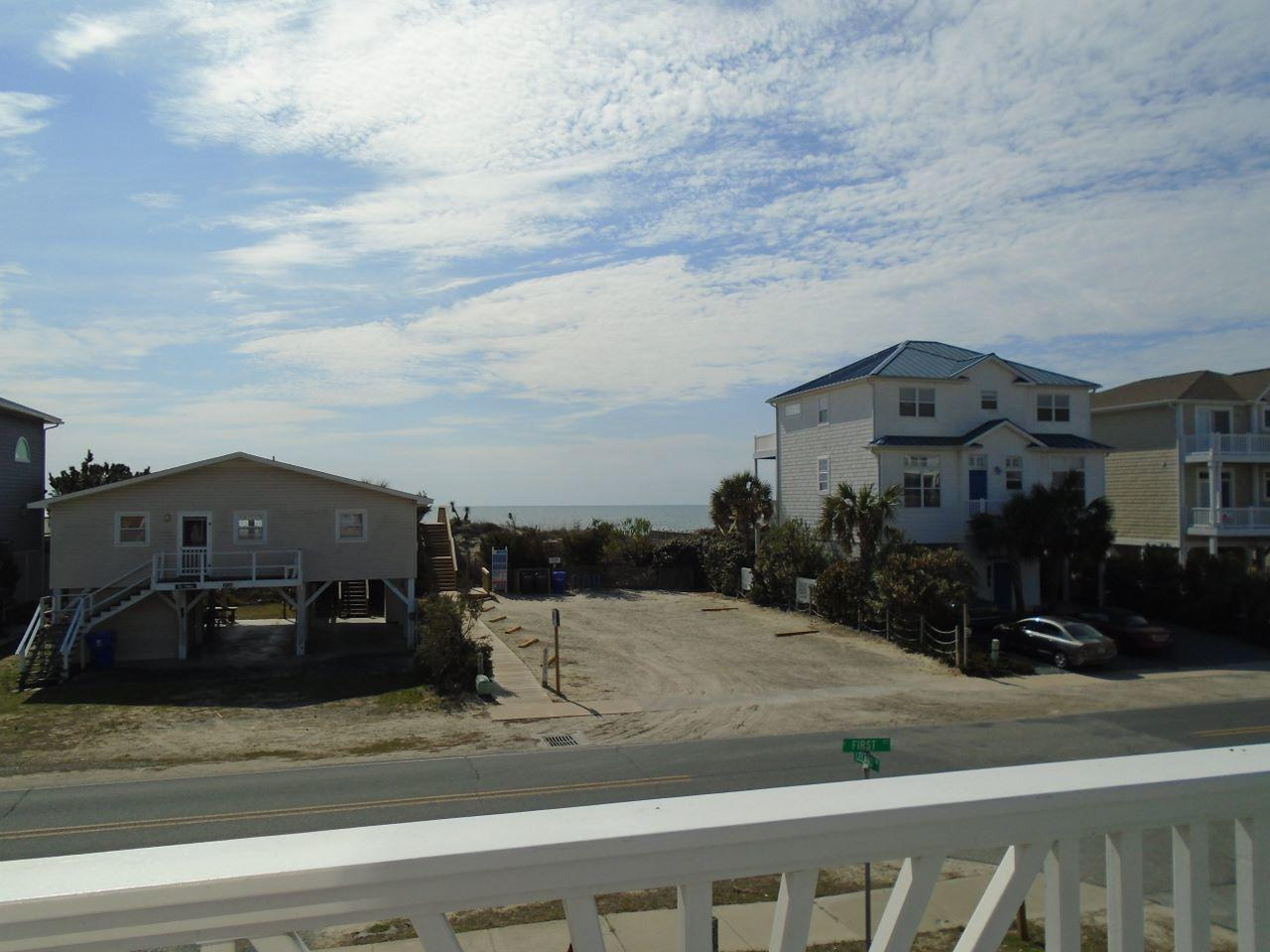 front ocean side deck view