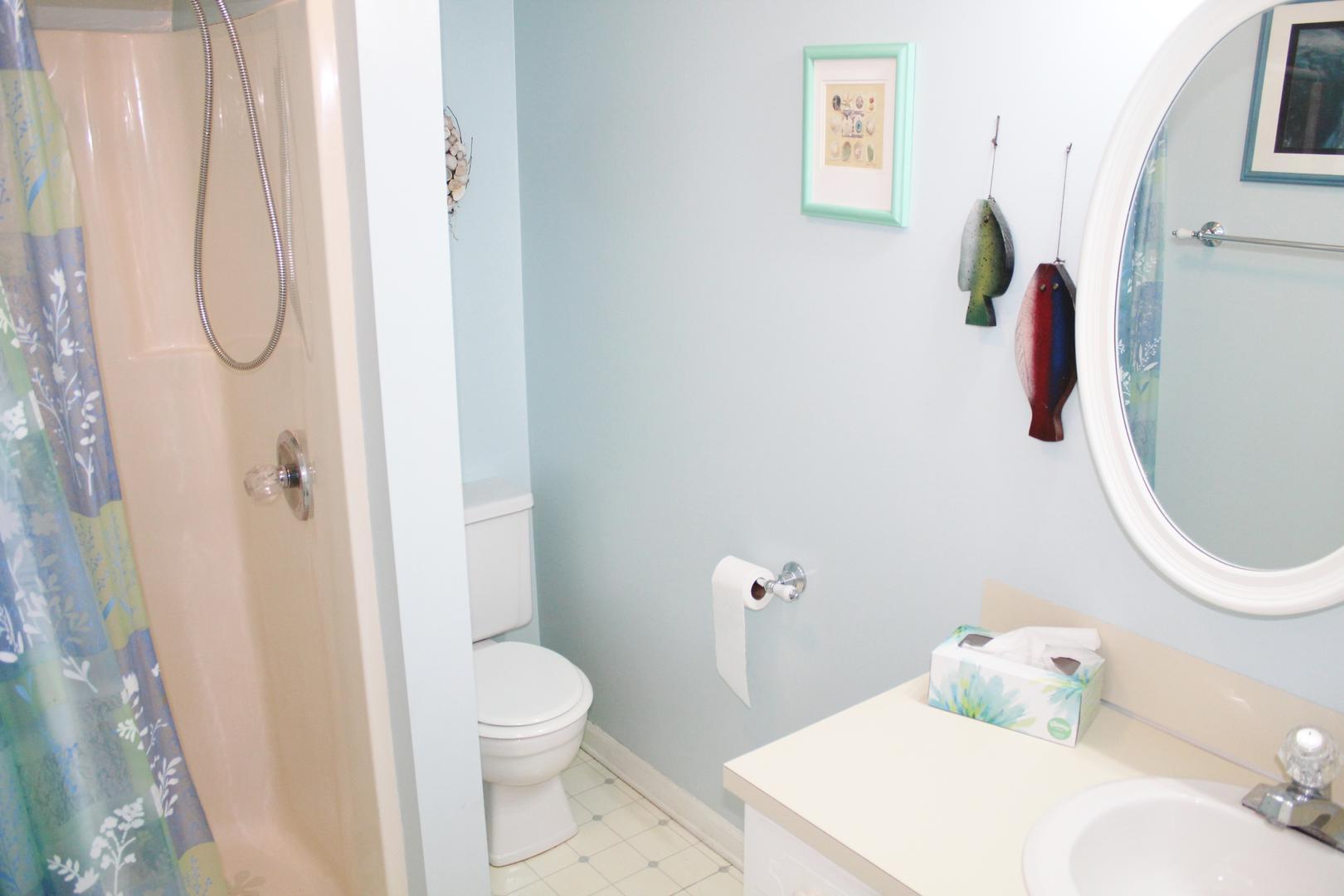 Bathroom/Standing shower