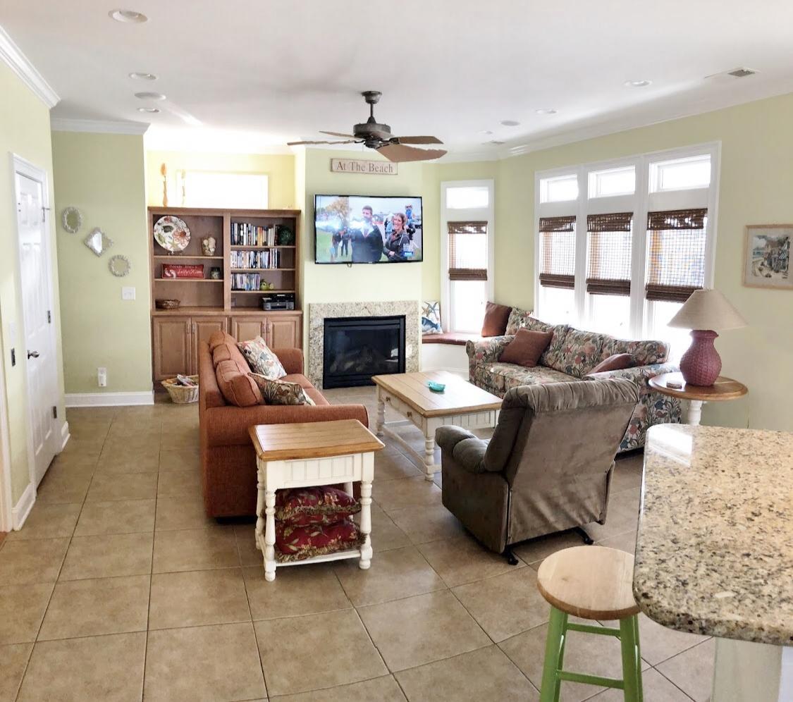 Living area on 2nd floor