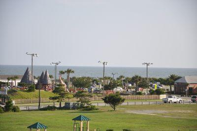 Playground behind museum.