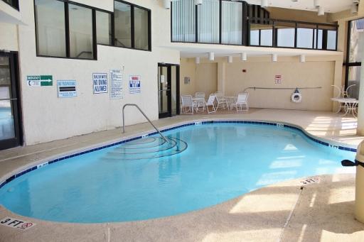 Ocean front community indoor pool