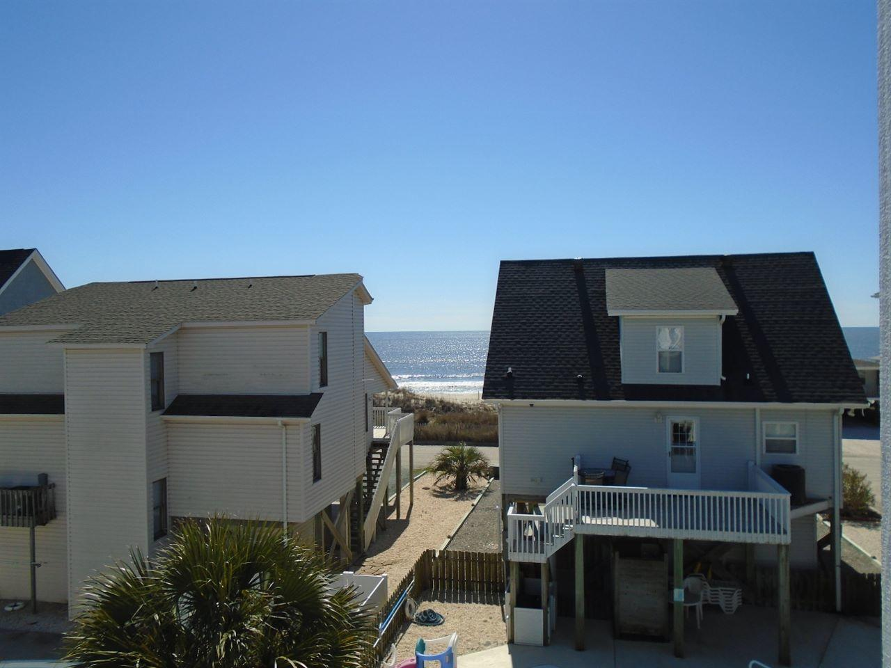 Ocean view from back deck