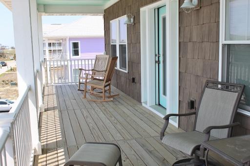 Ocean view porch