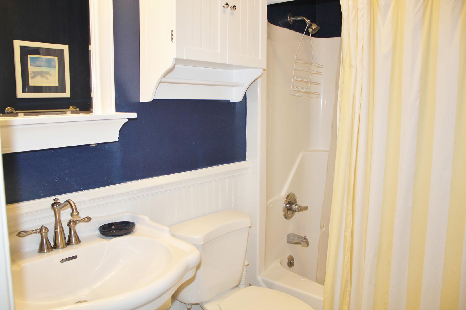 Hall Bathroom/Shower