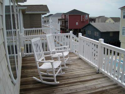 Ocean side top deck