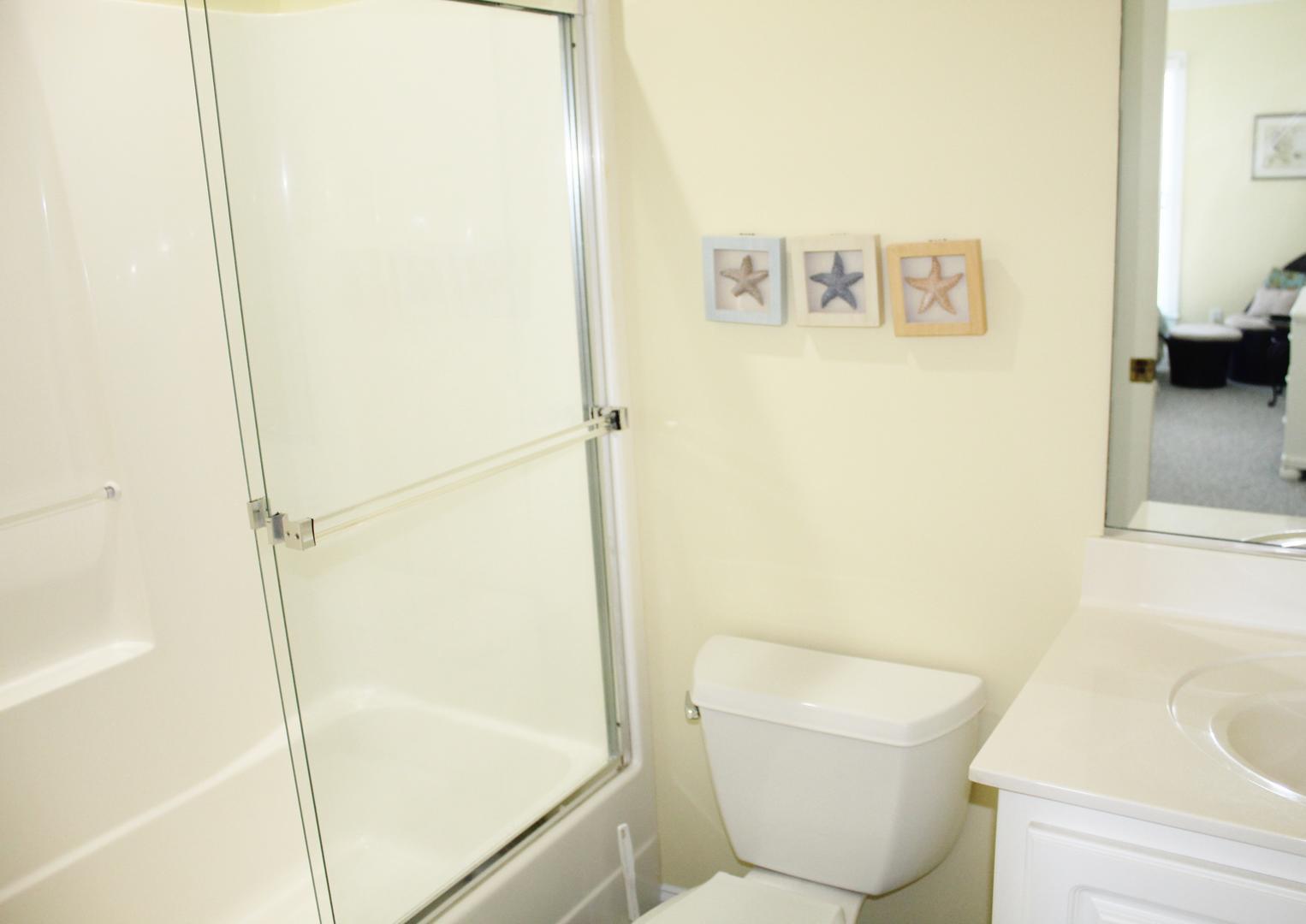 Bathroom in bedroom