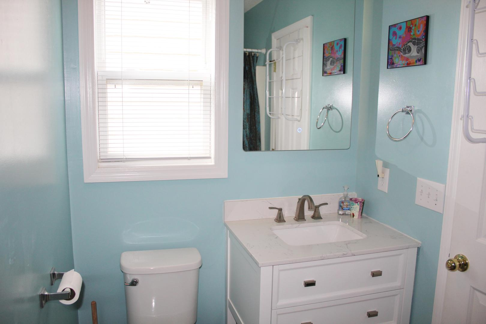 Bathroom in bedroom