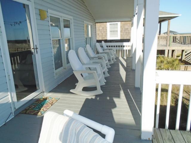 Ocean Front Deck