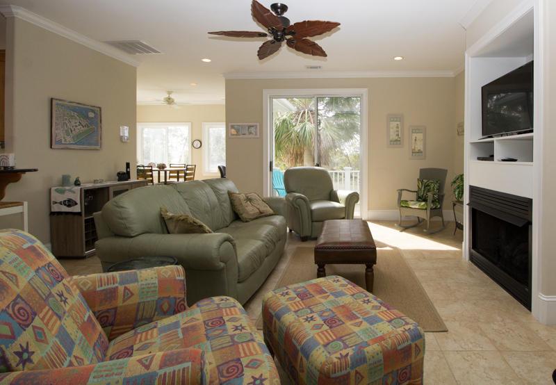 Living area on second floor