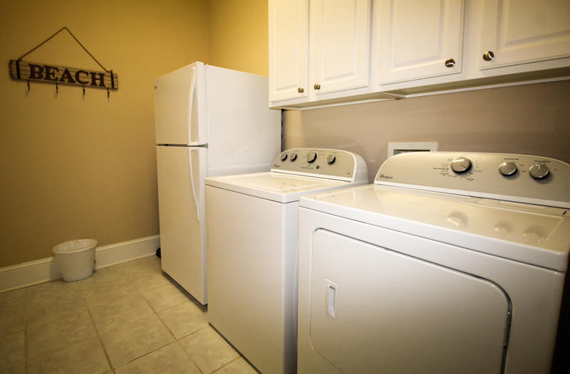1st Floor Laundry Room with Extra Refrigerator