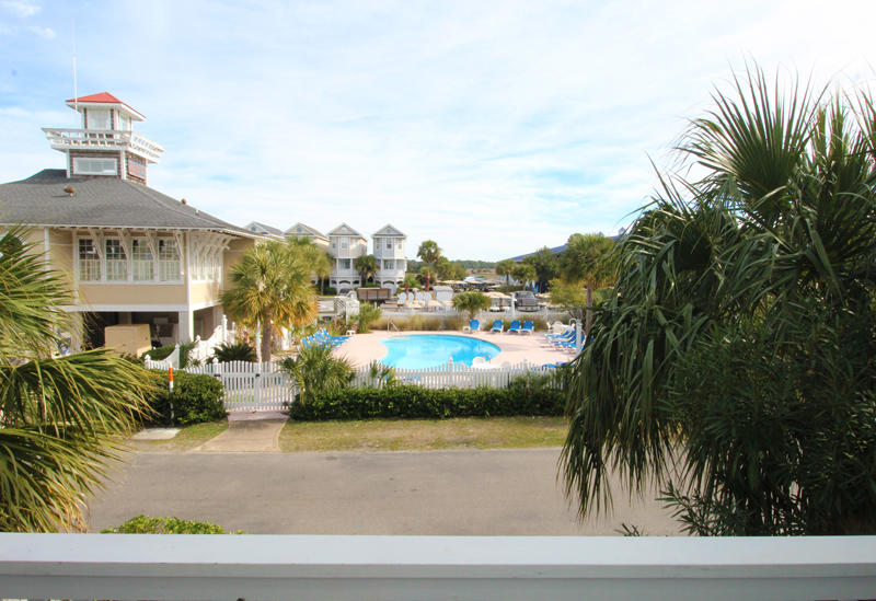 View of Marina Pool from Front Porch