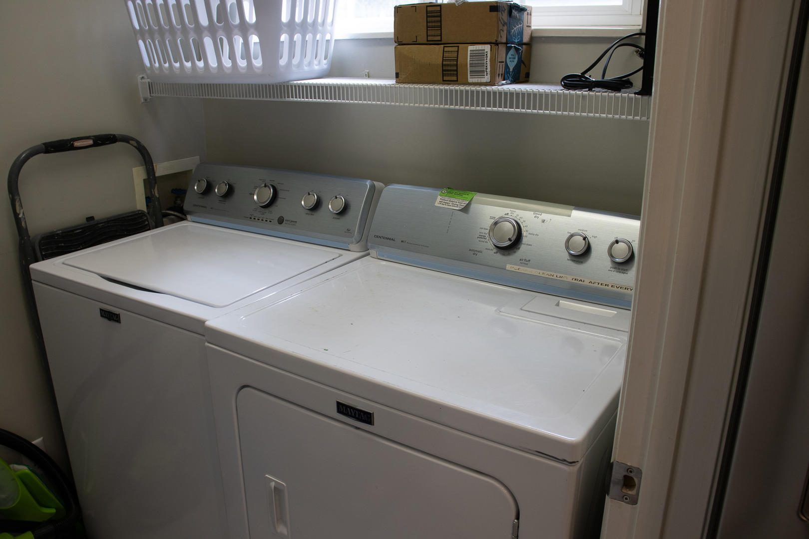 Laundry off of kitchen