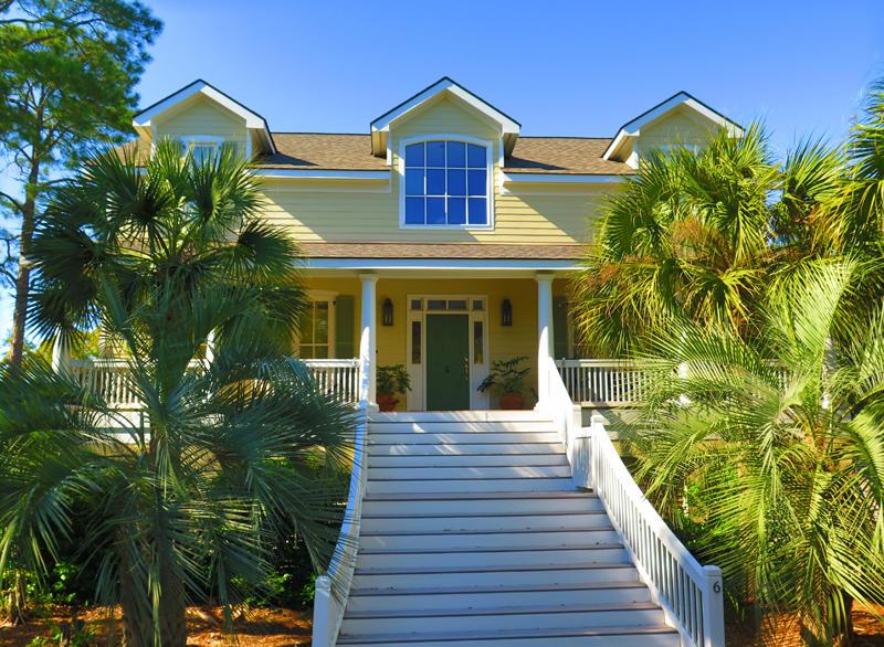 Fripp Island Rental Home Exterior