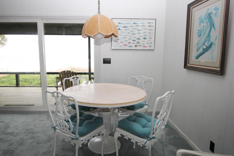 Round Table in Corner of Living Room