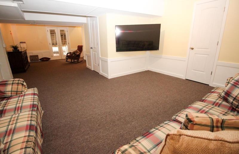Basement TV Room