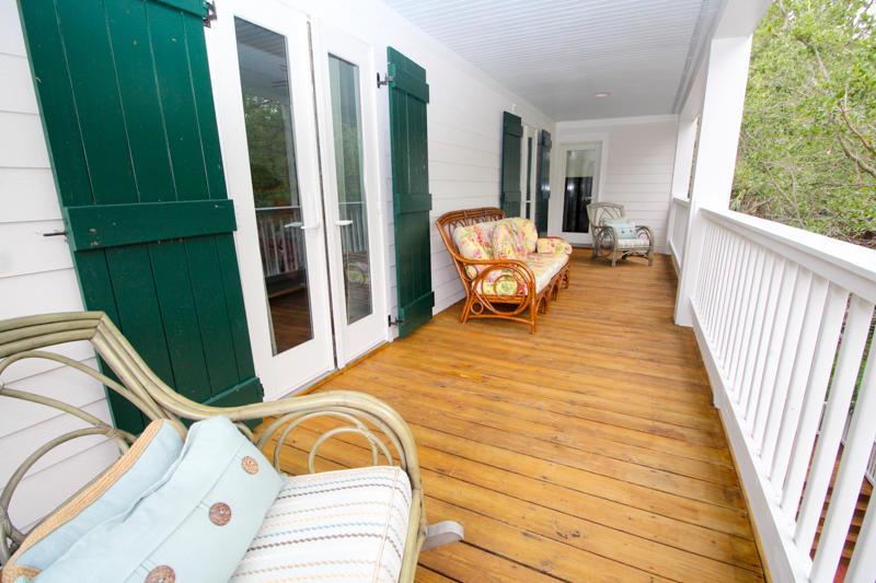 Porch off Master Bedroom