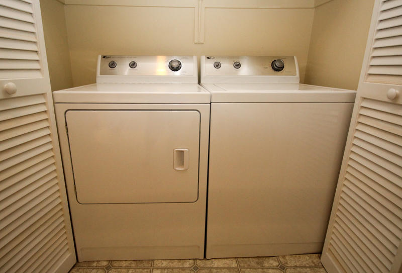 Washer/Dryer off Kitchen