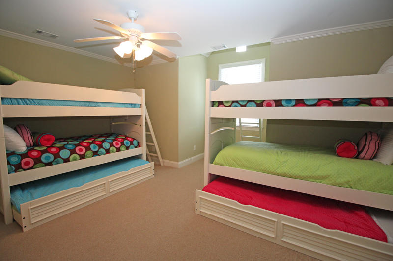 Second floor bunk room with Jack and Jill bath
