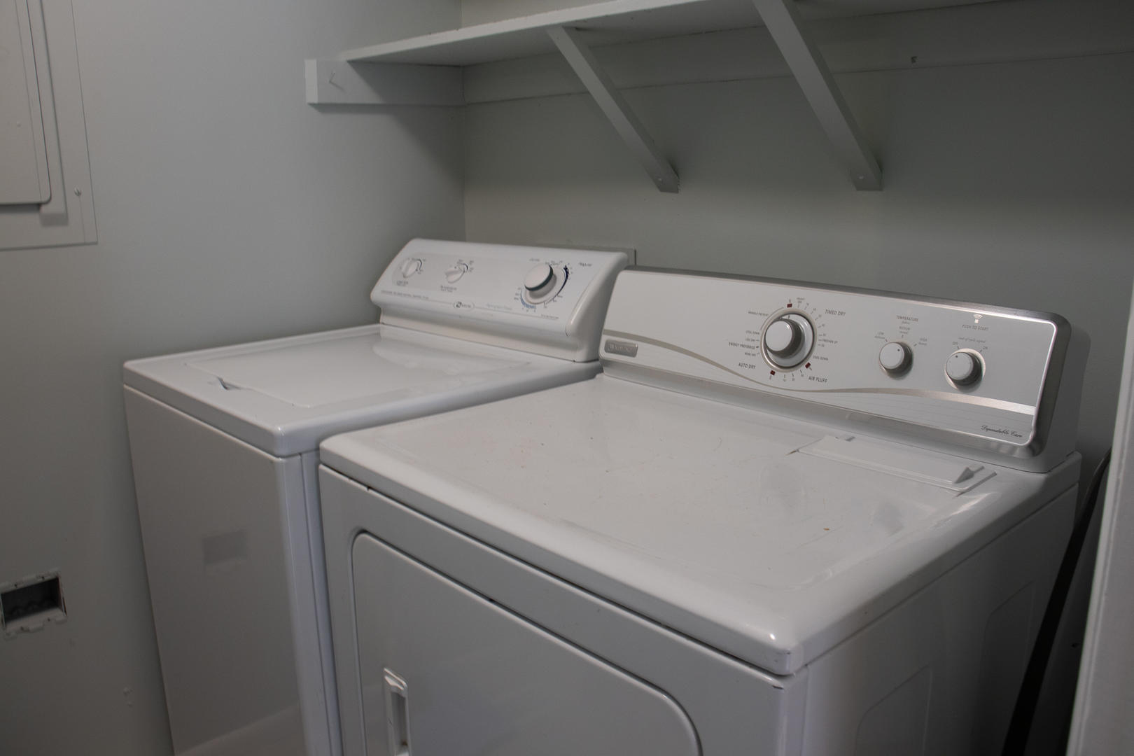 Laundry off kitchen