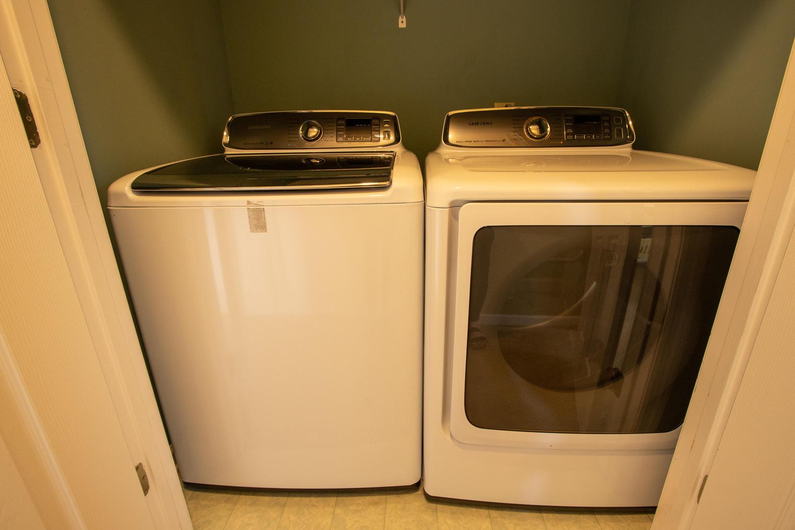 Laundry, 2nd floor between master and bedroom 1