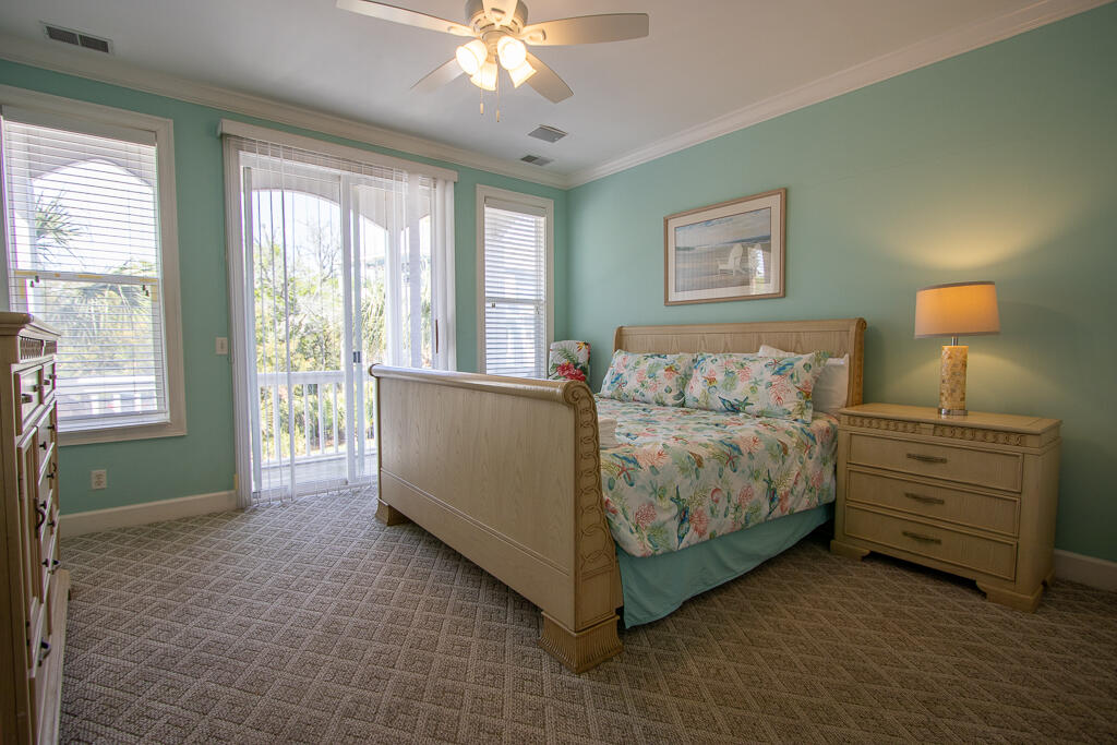 First floor King bedroom with en suite bath