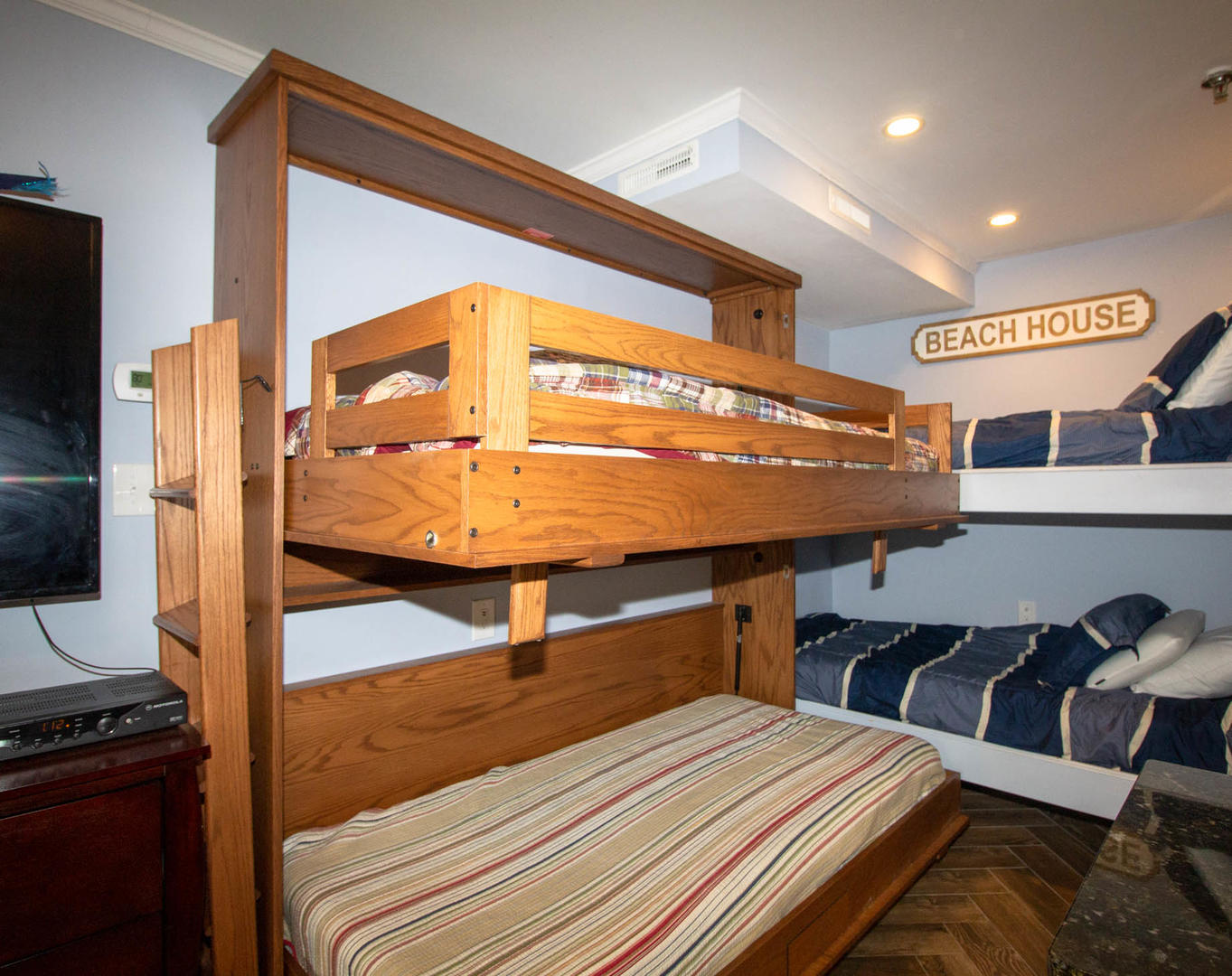 Murphy Bunk Bed Open