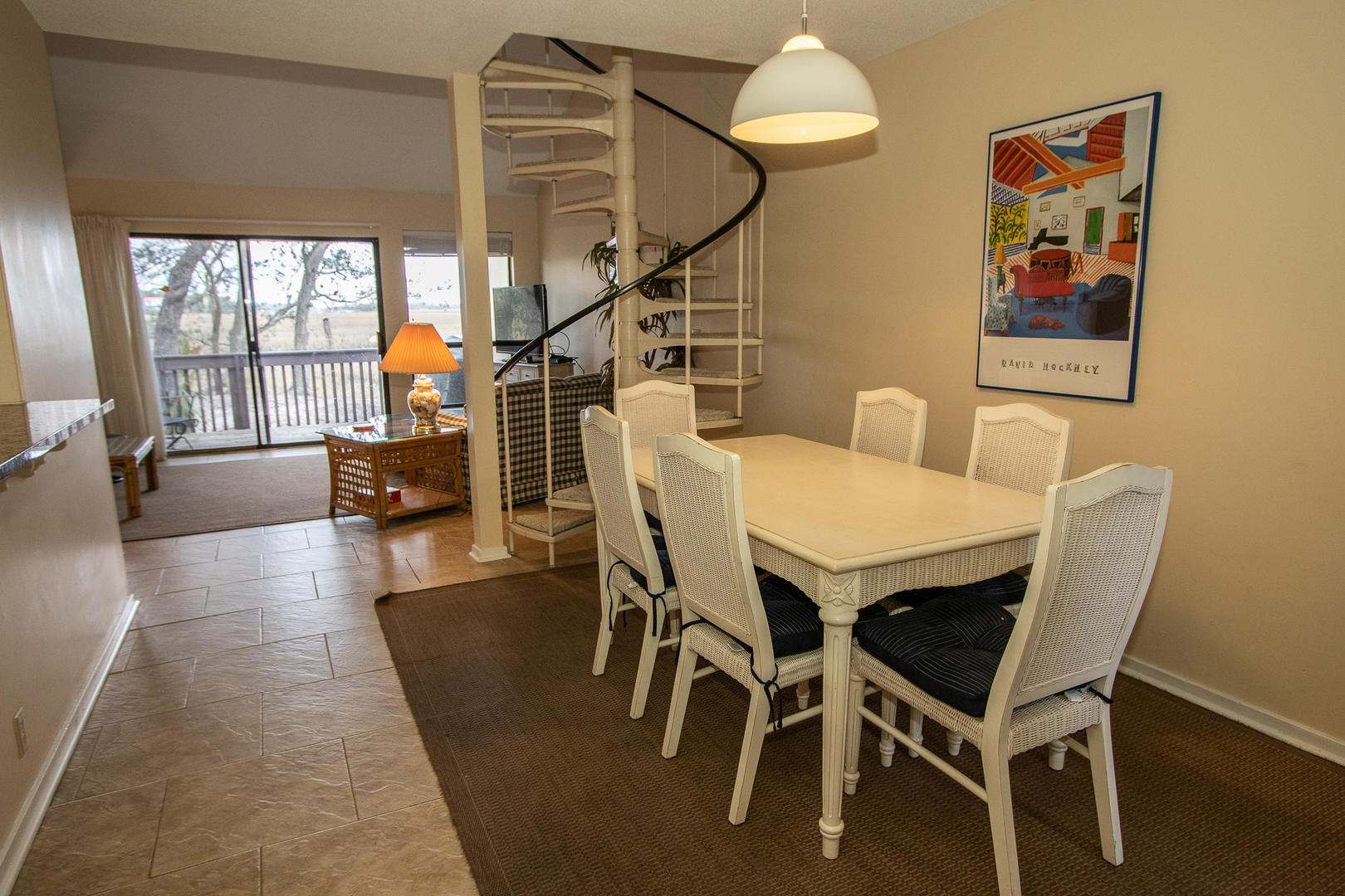 Dining, 6 seat table, next to kitchen
