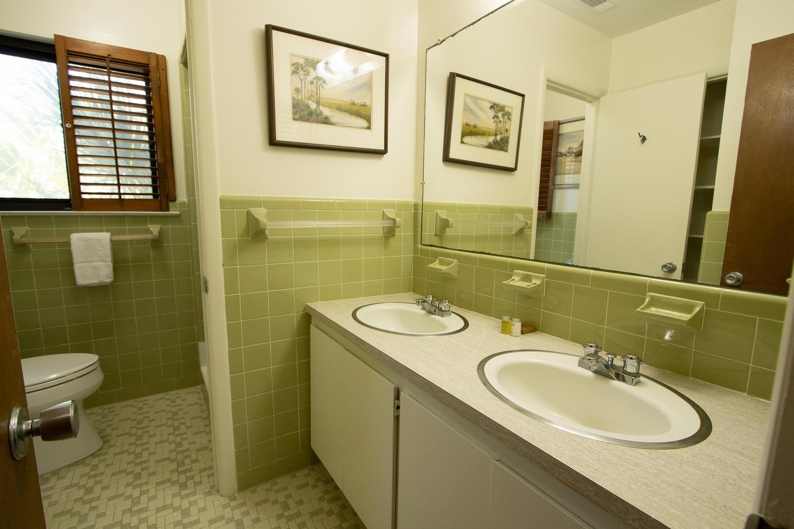 Bathroom next to master