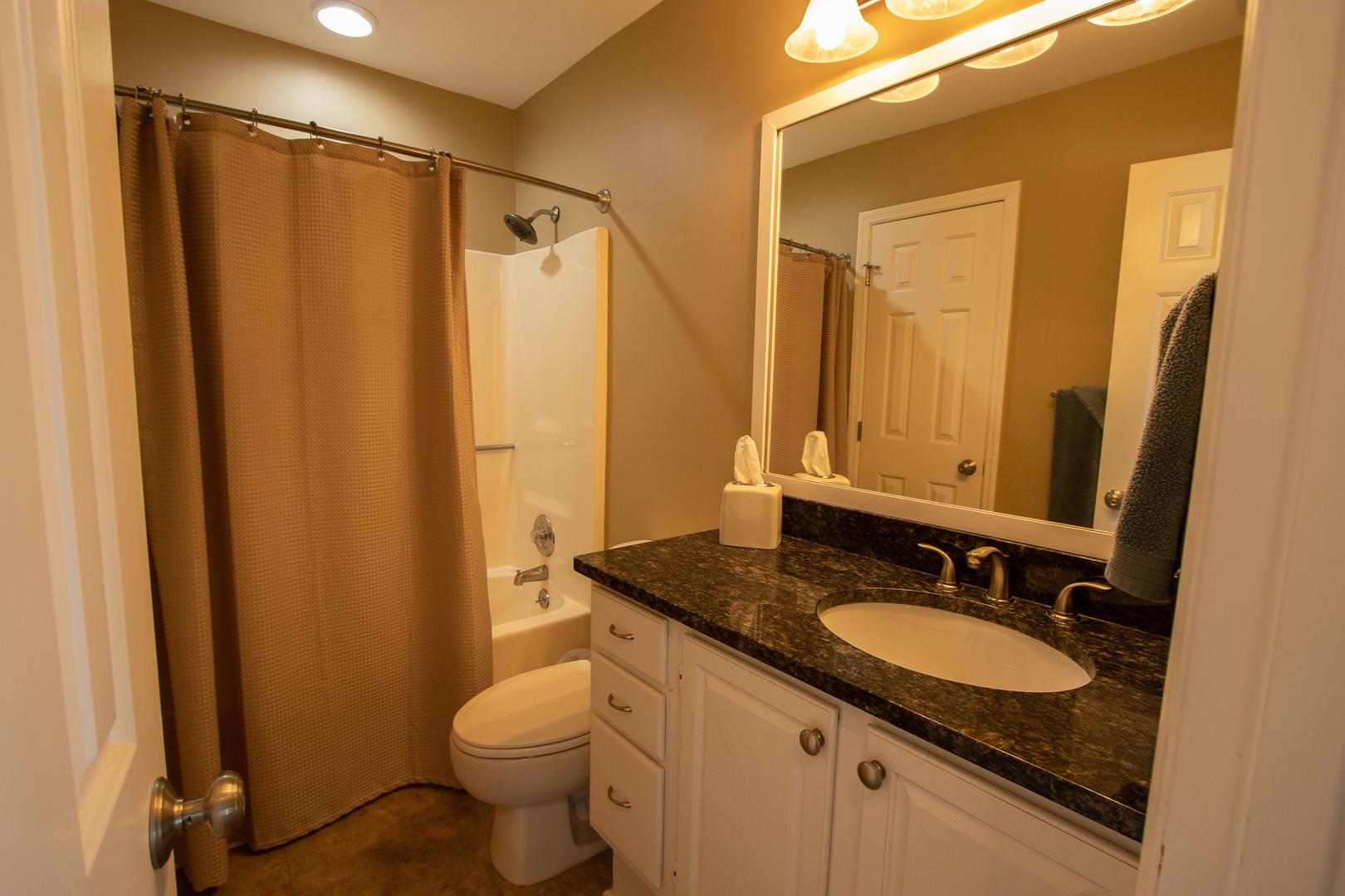 2nd floor bath, jack and jill to bedroom 3