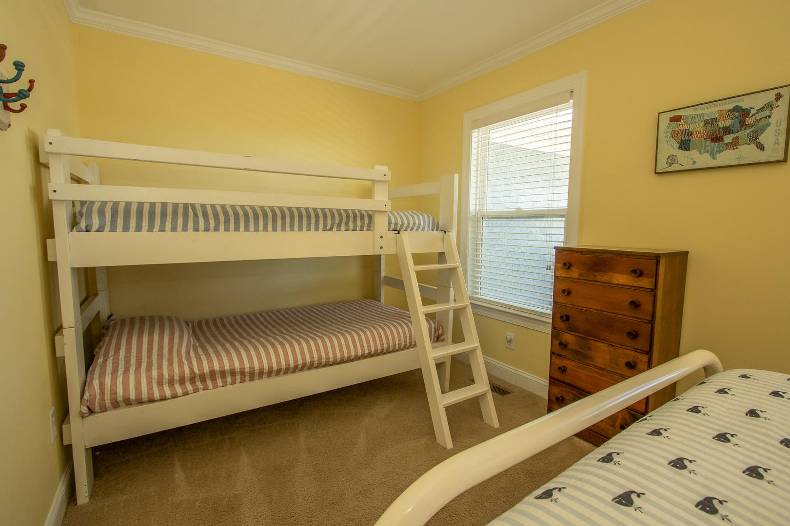 Bedroom 4, bunks and full bed